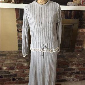 Vintage Givenchy sport two piece knit set